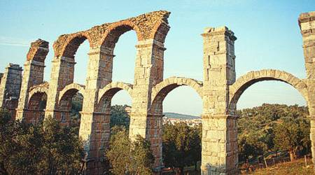 The Roman Aquaduct in Moria